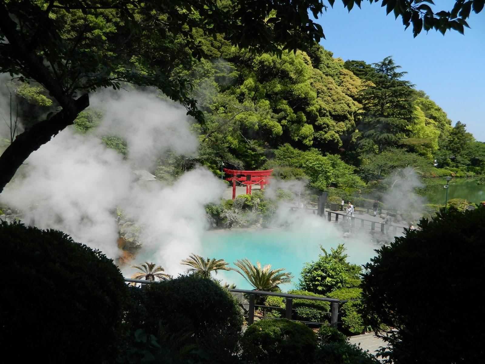 [صور + فيديو] بيبو .. مدينة الجحيم في اليابان