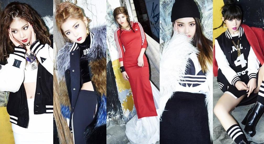 فرقة 4Minute أصدرن مجموعة أخرى من الصور والفيديوهات التشويقية ...