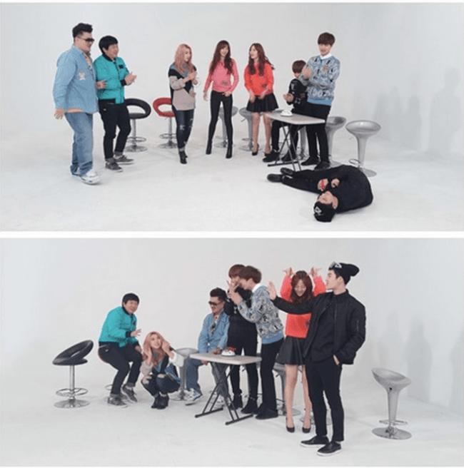 Jackson-and-Youngji-on-Weekly-Idol-650x656